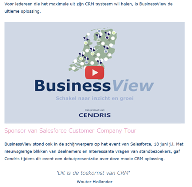 PostNL DataServices – Cendris​